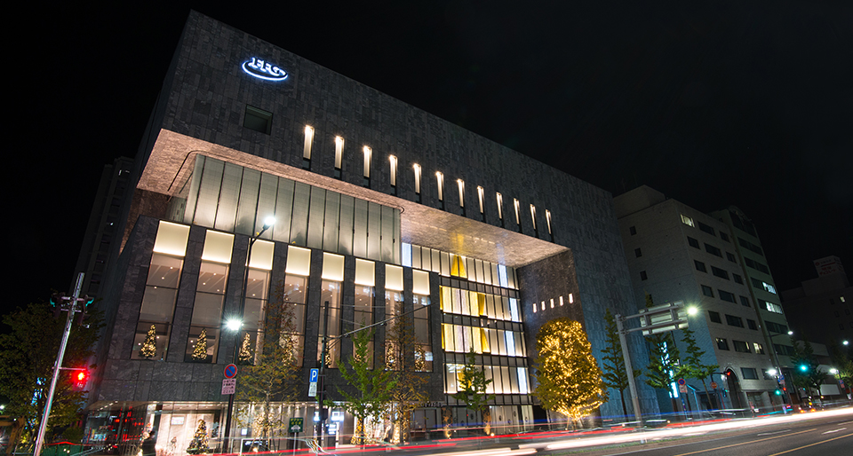 FFG北九州本社ビル 冬のイルミネーション「光の感謝祭」企画運営